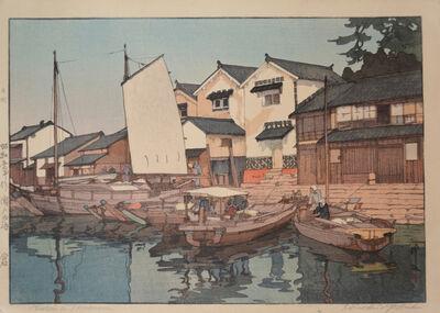 Yoshida Hiroshi, 'Kura in Tomonoura', 1930