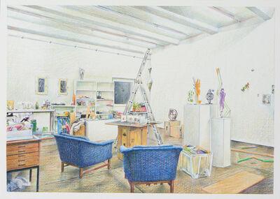Slawomir Elsner, 'Studio Knut Henrik Henriksen', 2016