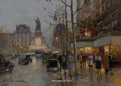 Edouard Léon Cortès, 'Place de la Republique'
