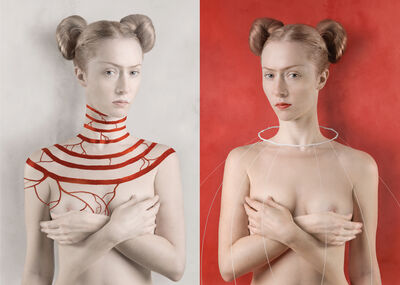 Katerina Belkina, 'For Kahlo White / For Kahlo Red', 2007