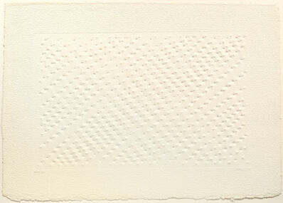 Enrico Castellani, 'Untitled', 1992