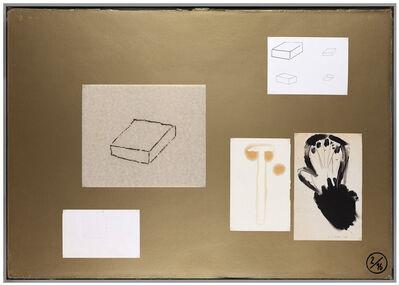 Joëlle Tuerlinckx, 'Planche d'atelier 2/16 - série Pauvres Sujets / gold ', 2016