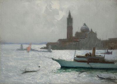 Charles Hoffbauer, 'The Lagoon, Venice'