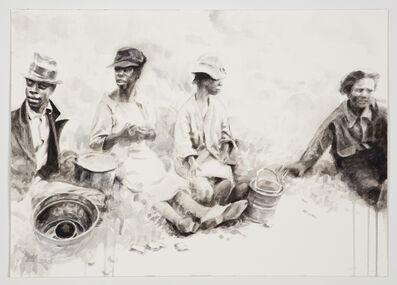 Hung Liu 刘虹, 'Field Break', 2016
