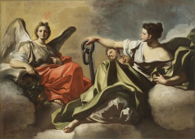 Francesco Solimena, 'Hope and Mercy'