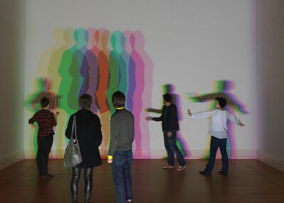 Olafur Eliasson, 'Your uncertain shadow (color)', 2010