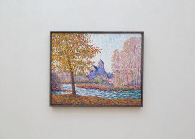 Francis Picabia, 'L'église de Montigny, effet d'automne', 1908