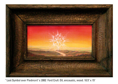Ford Crull, 'Last Symbol Over Piedmont', 2002