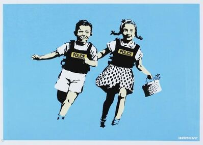 Banksy, ''Jack and Jill' (Unsigned)',  2005