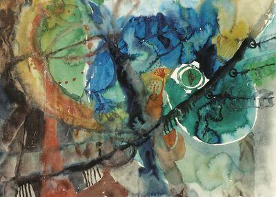 Lotte Berger-Maringer, 'Plant-Eye', 1969