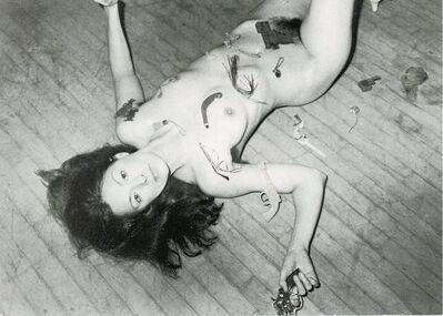 Hannah Wilke, 'P.S. 1, Hannah Wilke, so help me Hannah, Card', 1978