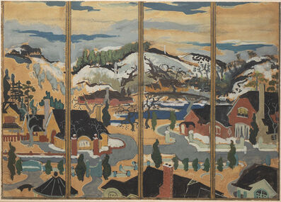 Preston Dickinson, 'Study for Screen, Winter', ca. 1923