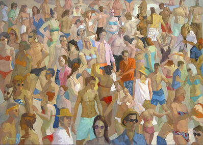 Michael Steirnagle, 'Faces in the Crowd', 2020