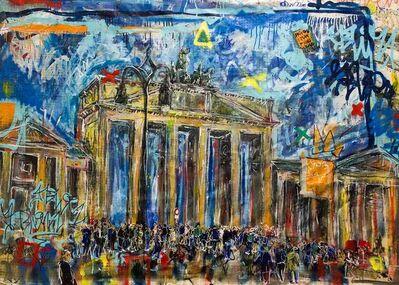 Andrea Sbra Perego, ' Berlin, The Brandenburg Gate', 2016