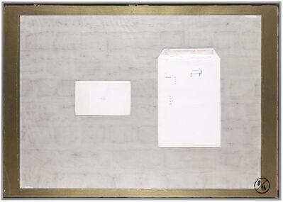 Joëlle Tuerlinckx, 'Planche d'atelier 8/16 - série Pauvres Sujets / gold', 2016