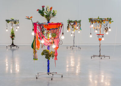 Haegue Yang, 'Female Natives: No. 3 Saturation out of Season', 2010
