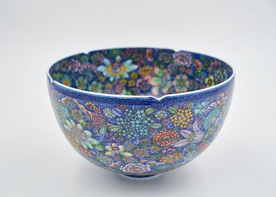 Yuki Hayama, 'Bowl with 'Ten Thousand Flowers' Motif', 2016