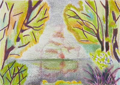 Jennifer Coates, 'Trees, Bushes, Pond, Reflection', 2017
