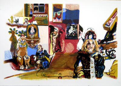 Natalie Frank, 'Satan's Ball (Bulgakov)', 2008