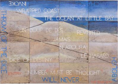 Imants Tillers, 'Nature Speaks: FY (Wrapped Coast)', 2017