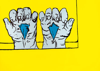 Bruno Gironcoli, 'Arbeit tut weh', 2003