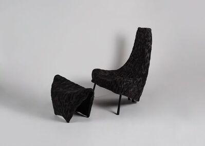 Ayala Serfaty, 'Madlena & Marco, Lounge Chair and Footrest ', AYA 60