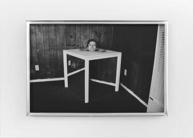 Patrick Jackson, 'Head on Table', 2017