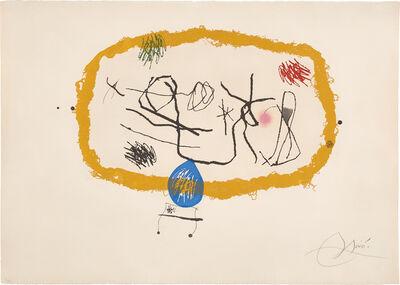 Joan Miró, 'Personatges solars (Solar Characters) (D. 648)', 1974