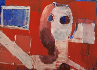 Joe Frost, 'Head on Red', 2015