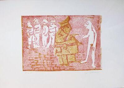 Mino Maccari, 'Figure', 20th Century