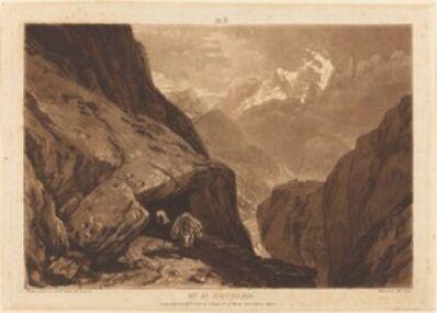 J. M. W. Turner, 'Mt. Saint Gothard', 1808