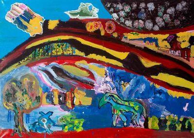 Artem Diatyan, 'Landscape with a horse', 2017
