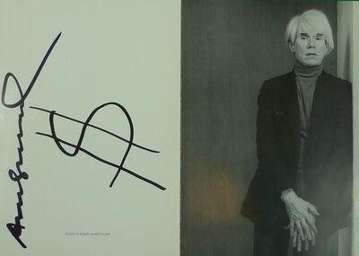 Andy Warhol, 'Bilder de 60er-80er Jahre und Ruhe Drucke', 1985