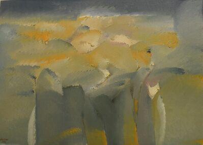 Hoe Koon Yeo, 'Sunset Hillside View', 1990