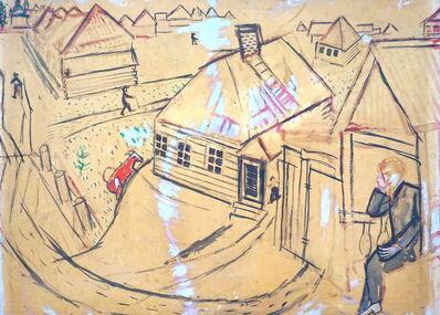 Marc Chagall, 'Village Lyosnos', 1914