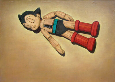 Víctor Sánchez Villarreal, 'Astroboy, the abandoned hero', 2015