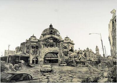 Hisaharu Motoda, 'Indication- Flinders Street Station (Melbourne)', 2010