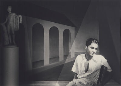 Lionel Wendt, 'Untitled (Beautry, Midnight, Vision Dies)', ca. 1938-39
