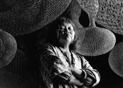 Howard Schatz, 'Ruth Asawa, photographed in her San Francisco studio', 1990