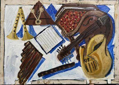 Danny Romeril, 'White table of instruments ', 2020