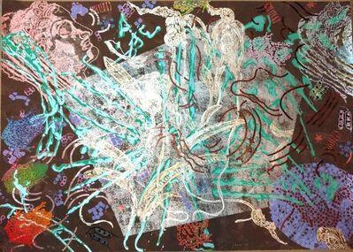 Nancy Graves, 'Large Nancy Graves Metallic Screen Print on Paper', 1980-1989