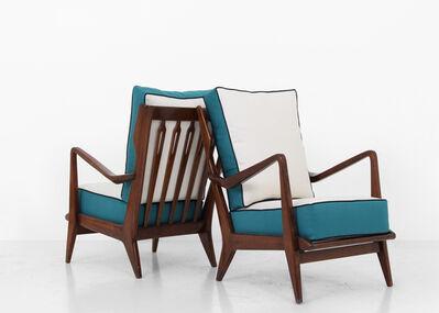 Gio Ponti, 'Pair of Model 516 armchairs by Gio Ponti', 1940-1950