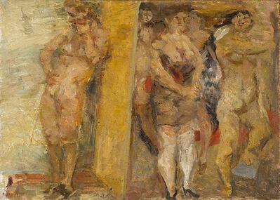 Fausto Pirandello, 'Bagnanti', anni 30-40