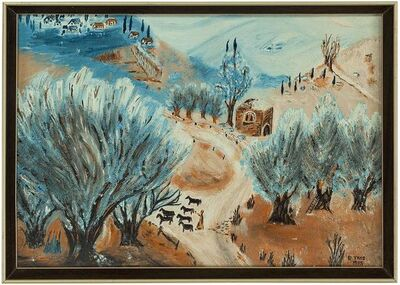 B Tivis, 'The Road to Safed', 20th Century