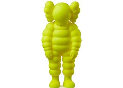 KAWS, 'What Party Figure (Yellow)', 2020