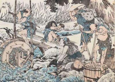 Katsushika Hokusai, 'Farmers at Work', 1820