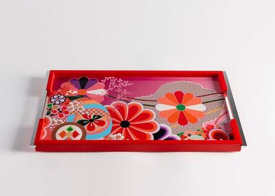 Zelouf + Bell, 'Kiku, Lacquered Serving Tray', Ireland-2018