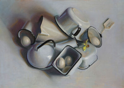 Janet Monafo, 'Enamel and Eggs: In North Light', 2015