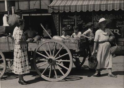 Marion Post Wolcott, 'Watermelon Cart', 1939