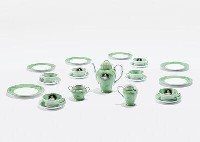 Cindy Sherman, 'Madame de pompadour (née Poisson) tea set (Green)', 1990